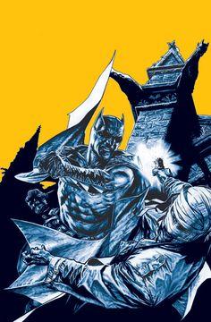 BATMAN: GOTHAM KNIGHTS #55 cover by Lee Bermejo