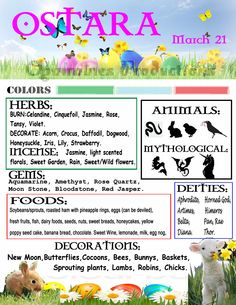 Sabbats and Esbats - Ostara Pinterest Arte, Wiccan Sabbats, Which Witch, Under Your Spell, Vernal Equinox, Eclectic Witch, Beltane, Book Of Shadows, Samhain