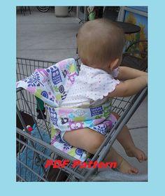 Panier bébé couvrir / coussin / Support - PDF tutoriel de couture & modèle Digital Download