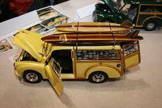 Beach Woody Model.