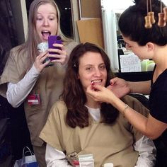 Orange is the New Black:  behind the scenes with Emma Myles and Julie Lake