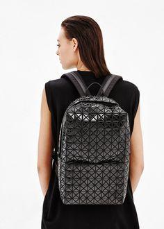 Issey Miyake BAO BAO Backpack in Black — http://totokaelo.com/bao-bao-by-issey-miyake/backpack/black/OPE091