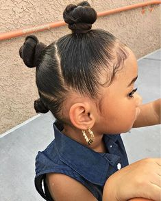 Little Girls Natural Hairstyles, Cute Toddler Hairstyles, Cute Hairstyles For Kids, Kids Braided Hairstyles, Black Baby Girl Hairstyles, Mixed Baby Hairstyles, Blasian Babys, Girl Hair Dos, Natural Hair Styles