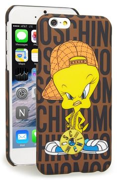 Moschino+'Tweety+-+Looney+Tunes'+iPhone+6+Case+available+at+#Nordstrom
