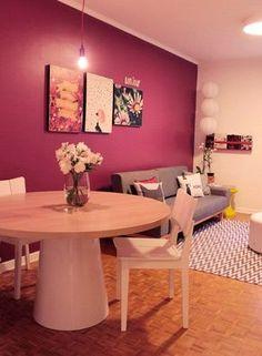 Casinha colorida: Como trazer alegria para as salas de estar