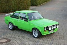 Ford Escort RS2000 Ford Rs, Car Ford, Cool Sports Cars, Cool Cars, Ford Escort, Escort Mk1, Ford Classic Cars, Classic Motors, Small Cars