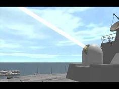 The US Navy will soon be using a massive ship-mounted laser to blow things out of the sky. Watch their new weapon set fire to an airborne drone...