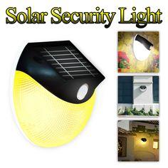 Solar Motion Light Outdoor Wireless Security Wall Light