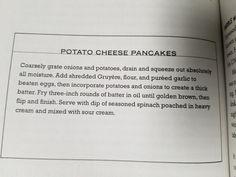 22. Potato Cheese Pancakes