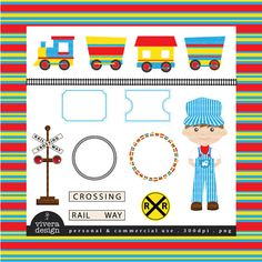Hey, I found this really awesome Etsy listing at https://www.etsy.com/listing/81661326/all-aboard-the-party-train-clip-art-in
