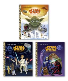 Loving this Star Wars Original Trilogy Little Golden Book Hardcover Set on #zulily! #zulilyfinds
