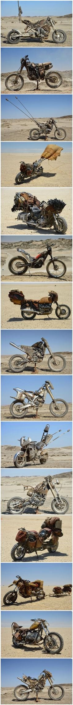The custom motorcycles of Mad Max: Fury Road - Imgur: