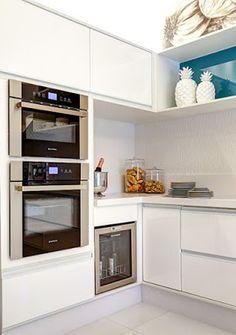 Torre de eletrodomésticos é a aposta para deixar a cozinha funcional…