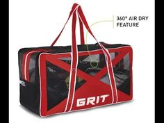 GRIT Airbox™ Carry Hockey Bag (Hockey Tutorial Review) - http://hockeyvideocenter.com/grit-airbox-carry-hockey-bag-hockey-tutorial-review/