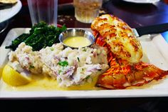 Massive Lobster Tail w/ mashed taters at Pappadeaux Seafood Kitchen in San Antonio, Texas. Seafood Kitchen, Kitchen In, Copycat Recipes, Seafood Recipes, Pappadeaux Seafood, Seafood Place, San Antonio, Alaskan King Crab, Good Food