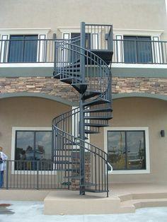 Best Metal Spiral Staircase For Sale Standard Exterior Spiral 400 x 300