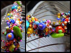 Beaded bracelets from Guatemala - http://www.facebook.com/elzonte