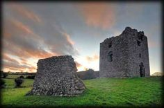 The ruins of Moyry Castle are situated in County Armagh, Northern Ireland.