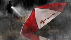 b78b8f280a13c Resident Evil  Under The Weather Umbrella Corporation Umbrella - Merchoid