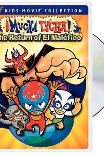 ¡Mucha Lucha!: The Return of El Maléfico poster, t-shirt, mouse pad Best Cartoons Ever, 90s Cartoons, Cartoon Online, What To Draw, Old Shows, Cartoon Faces, All Movies, Movie Collection, Cartoon Shows