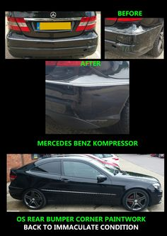 Mercedes Benz repairs and paintwork
