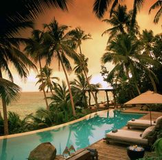 North Island is located in the Seychelles, and has 11 luxury lodges for you to choose from for your stay. Book North Island Seychelles and other exclusive luxury resorts at ResortWorld. Romantic Destinations, Romantic Places, Vacation Destinations, Dream Vacations, Vacation Spots, Beautiful Places, Italy Vacation, Romantic Travel, Wonderful Places