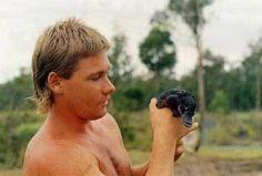 Selten gesehene Fotoaufnahme von Steve Irwin