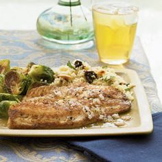 Pan-Seared Tilapia with Citrus Vinaigrette from Cooking Light