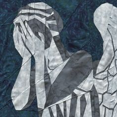 Whims and Fancies: Weeping Angel Doctor Who Quilt Pattern #DoctorWho #WeepingAngel