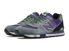 Masculinas New Balance 574 Sapatos clássicos Grey Roxo ML574DGP | eBay