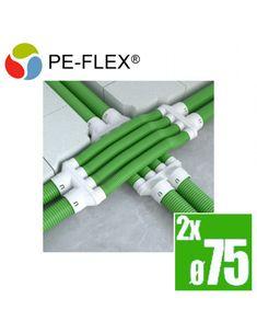PE-flex kríženie potrubí - set - 2x75