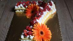 Ricetta Letter Cake con pasta biscotto - #torta #compleanno #ricetta #food #birthday #birthdaycake Macarons, Pasta, Biscotti, Cupcake, Muffin, Lettering, Desserts, Food, Brioche