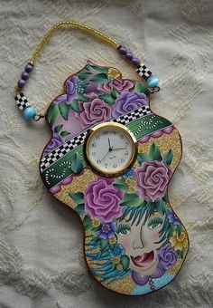 Little Clock - Solid polymer by dixie103, via Flickr