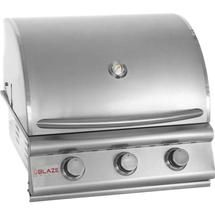 Blaze 134-BLZ-3 25 Inch 3 Burner Professional Gas Grill