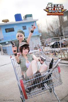 "Eri Kasamoto by Reve. Fiolina Germi by Ricco. [Rz Cos] ""Metal Slug Revolution"" - Cosplay / [Rz Cos] 메탈슬러그 레볼루션"