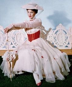 beautiful, julie andrews, and Mary Poppins image