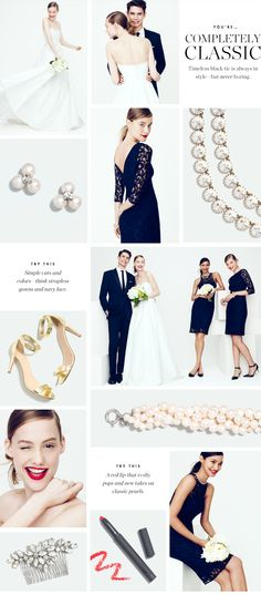J.Crew - The Weddings & Parties Collection - Classic // wedding email design