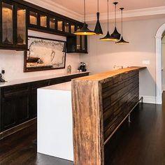 Afbeeldingsresultaat voor kitchen island with raised bar