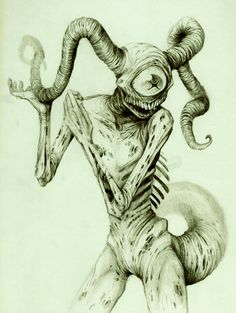 Trade with Musa by ~dendril Traditional Art / Drawings / Macabre & Horror ©2012-2013 ~dendril
