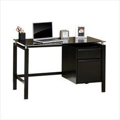 Studio RTA Lake Point Desk in Black - 408916 - Lowest price online on all Studio RTA Lake Point Desk in Black - 408916