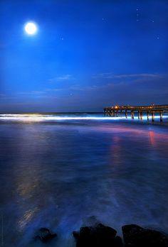 Jan Beach Moon and Orion, St. Augustine, Florida http://www.vacationrentalpeople.com/vacation-rentals.aspx/World/USA/Florida/