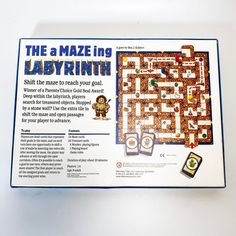 Vintage Ravensburger Labyrinth Board Game Maze Complete D&D Toys Labyrinth Board Game, Maze Games For Kids, Parents Choice, Vintage Games, Helping Others, Board Games, The 100, Boards, Dragons
