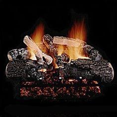 """Hargrove Magnificent Inferno See Thru Vented Logs 36"""" by Hargrove. $625.00. Capable of withstanding temperatures of over 2000AF. Natural Gas or Liquid Propane Compatible. Please see sizing guide to best select the set that will fit in your fireplace. Hand painted highlights add to the beauty and realism of these logs. Expanded metal mesh reinforcement is molded into each log. The Magnificent Inferno offers massive logs, with lots of charring, and heavy, richly de... Hand Painted Highlights, Expanded Metal Mesh, Wood Fireplace, Fireplaces, Outdoor Heaters, Wood Burning Fires, Gas Logs, How To Lose Weight Fast, Outdoor Gardens"""