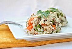 LUDASKÁSA /lehet csirkeaprólékból is készíteni / Fried Rice, Main Dishes, Bacon, Grains, Dinner, Ethnic Recipes, Kitchen, Food, Goodies