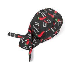 [$1.97] Simple Style Unisex Chef Waiter Work Cap Pirate Hat Turban Cap
