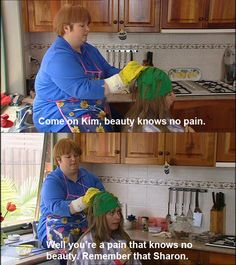 """18 """"Kath & Kim"""" Quotes That'll Make You Laugh Every Time Tv Shows Funny, Best Tv Shows, Favorite Tv Shows, Kim Tv, Aussie Memes, Australia Funny, Trixie And Katya, Trailer Park Boys, Heath And Fitness"""