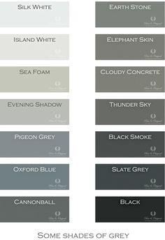 Een kleine selectie van de Pure & Original kleuren. Zijn er geen 50, maar…