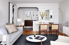 Check out how to make 600 square feet feel like PLENTY of space on domino.com