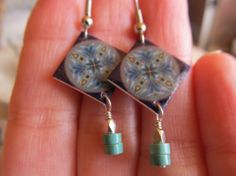 La 'Marcela' Spanish Inspired Mini  Mexican Tile by FayWestDesigns, $14.00