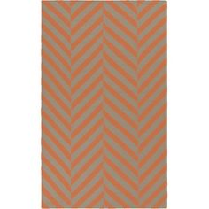 Found it at Wayfair - Frontier Coral & Taupe Area Rug